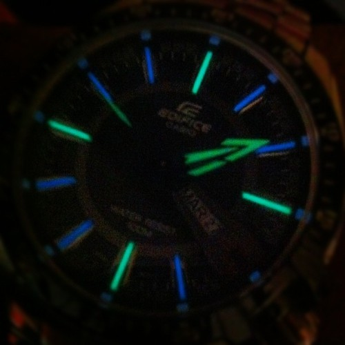 Casio Edifice #mytimepiecematrix  (Taken with Instagram)