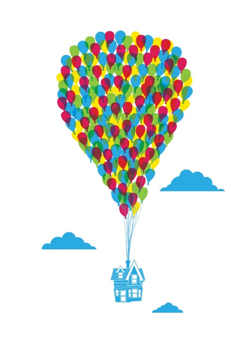 prettyclever:  Anthony Peters, Imeus Design  I Love this :) Reminds me of up!