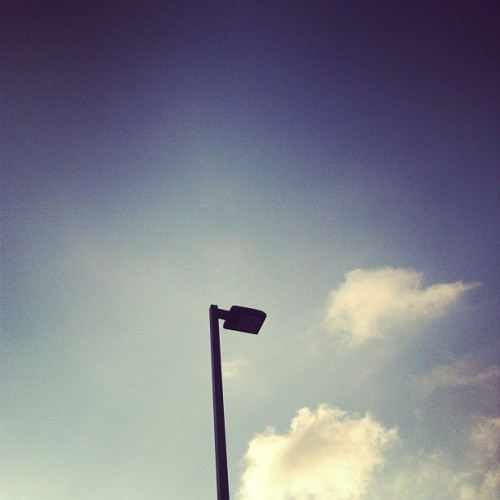 A picture of the #sky  (Taken with Instagram)