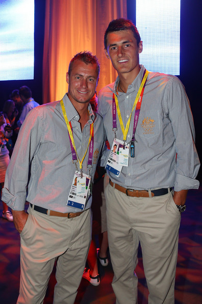 thetennisslice:  Rusty and Bernie  bernard tomic <3