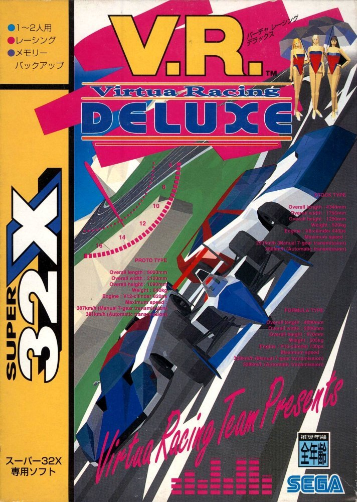 vgjunk:  Virtua Racing Deluxe.