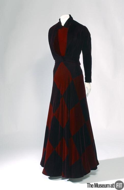 Dress Madame Grès, 1942 The Museum at FIT