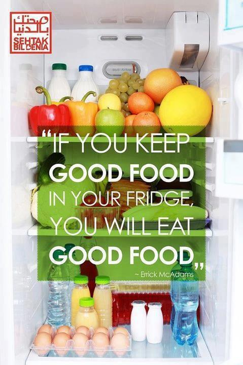 happyhealthycorinne:  loseweightfeelgreat918:  (via imgTumble)  Can't eat crap if it isn't around!!!