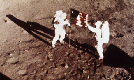 "Apollo 11 astronauts Neil Armstrong and 'Buzz' Aldrin. Photograph: NASA/AP  Are climate sceptics more likely to be conspiracy theorists? New research finds that sceptics also tend to support conspiracy theories such as the moon landing being faked It's time to come clean: climate change is a hoax. And the moon landings were faked, 9/11 was an inside job, and the CIA is hiding the identity of the gunman on the grassy knoll.  It might seem odd to lump climate change – a scientific theory supported by thousands of peer-reviewed papers and hundreds of independent lines of evidence – with conspiracy theories like these. But new researchto be published in a forthcoming issue of Psychological Science has found a link between the endorsement of conspiracy theories and the rejection of established facts about climate science.  In a survey of more than 1,000 readers of websites related to climate change, people who agreed with free market economic principles and endorsed conspiracy theories were more likely to dispute that human-caused climate change was a reality.  Stephen Lewandowsky and his colleagues at the University of Western Australia posted a link to an online questionnaire on eight climate-related blogs with a diverse readership, in order to capture people's views about economics, science and conspiracy theories. Five ""sceptic"" (or ""sceptic-leaning"") blogs were also approached but declined to post the link – interesting in and of itself, given the frequent claim that sceptical views are excluded from mainstream debates.  What they found was remarkable. People who endorsed conspiracy theories such as ""9/11 was an inside job"" and ""the moon landings were faked"", were also more likely to reject established scientific facts about climate change, such as ""I believe that the burning of fossil fuels on the scale observed over the last 50 years has increased atmospheric temperatures to an appreciable degree."""