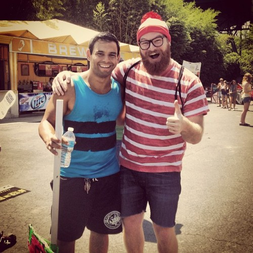 I FOUND HIM! #whereswaldo (Taken with Instagram)