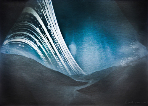 aestheticssensibilities:  Kurdjali Dam Solargraph by pophristov on Flickr.