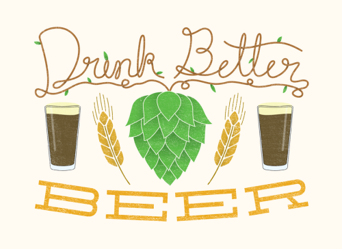Artwork for an article on craft beer in Mt. Pleasant, SC.