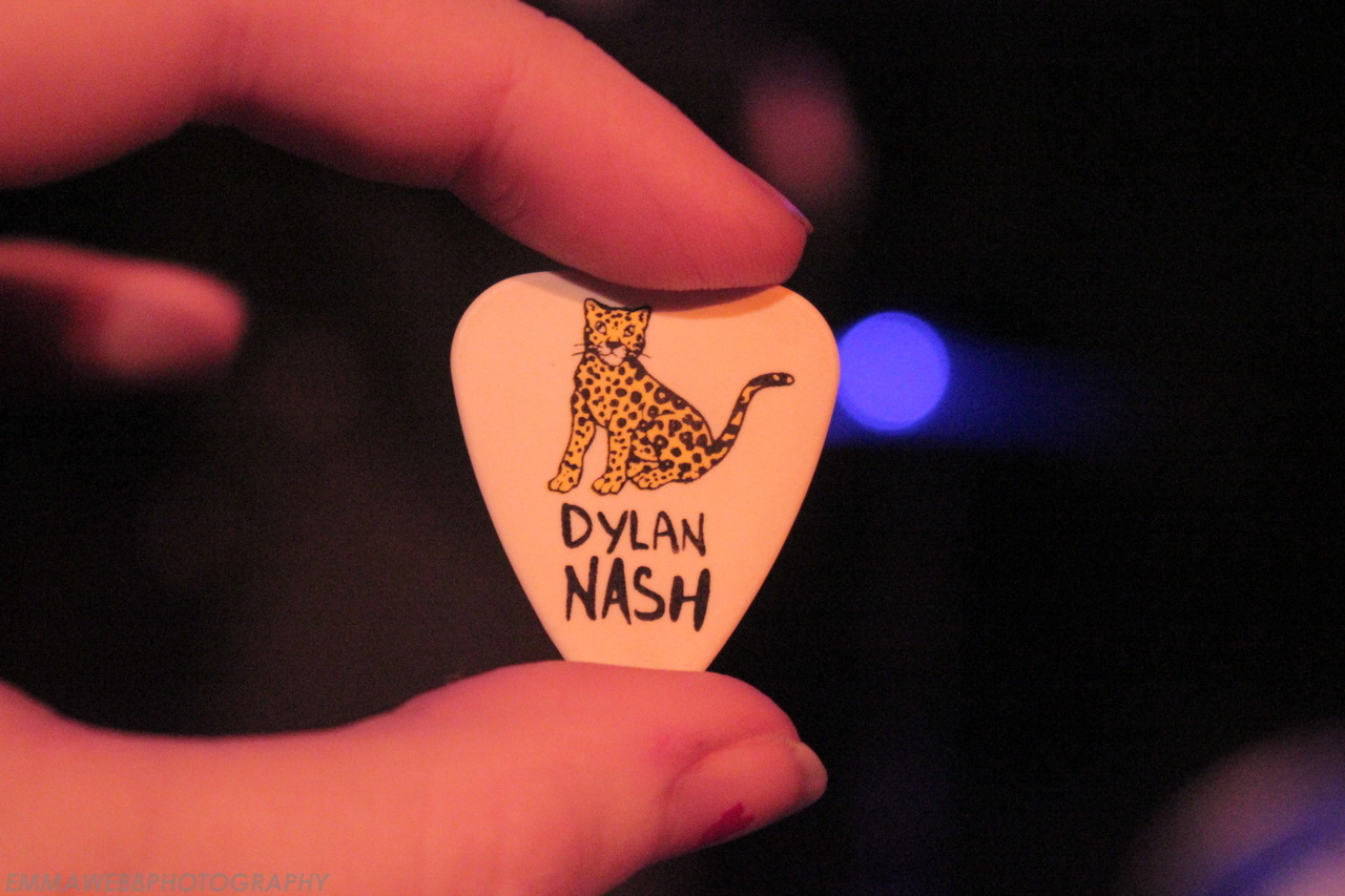 Dylan Nash Guitar Pick - The Never Ever