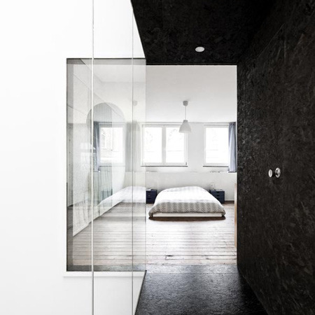 justthedesign:  justthedesign: Opening To Bedroom