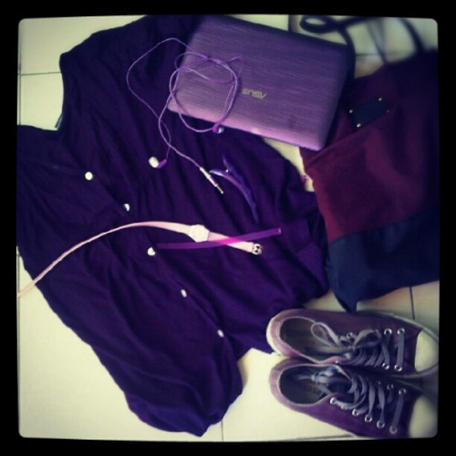 It's all about purple (Taken with Instagram)