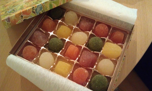 Japanese gum drops; each one a work of art!