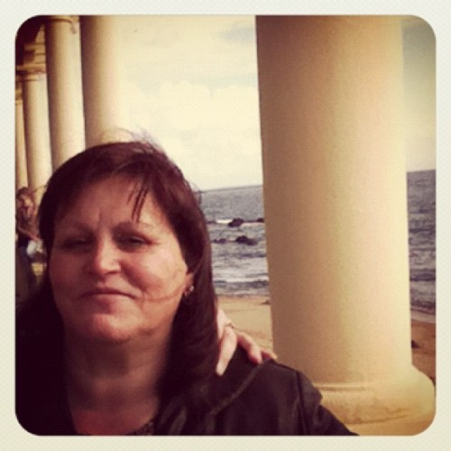 Its my wonderful mom 50th birthday :)  (Tirada com o Instagram em Foz do Douro)