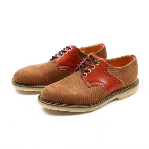 anchordivision:  Union x Mark McNairy x Sanders & Sanders Corduroy Saddle Shoe | Anchor Division  For Breez.