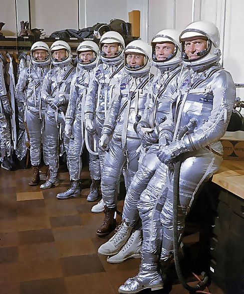 Mercury Atlas 7 Crew 1962