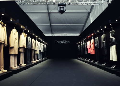Our Calvin Klein Collection line up for Fall 2012.