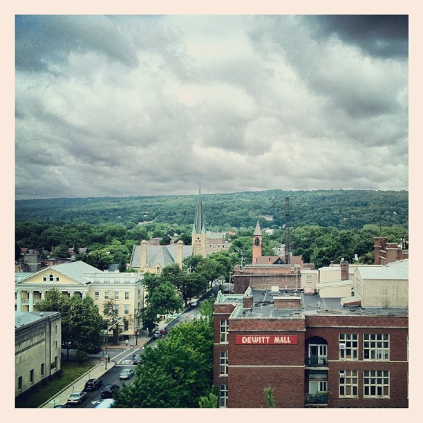 First day in Ithaca, NY (Taken with Instagram at Hilton Garden Inn)