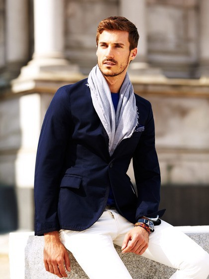myfivestar:  Italia Independent Grosgrain Taped Blazer