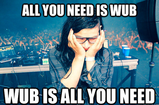 Why so sad, Skrillex?