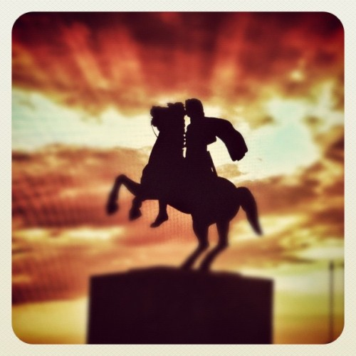 #alexander the #great #thessaloniki #greece  (Taken with Instagram)