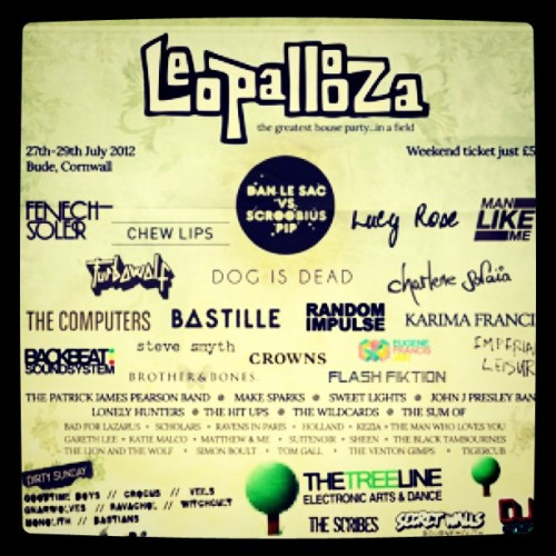 This is tonight babys! Main stage 9pm. X (Taken with Instagram)