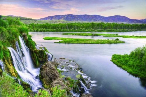 "The majestic South Fork of the Snake River flows 66 miles across southeastern Idaho, through high mountain valleys, rugged canyons, and broad flood plains to its confluence with the Henry's Fork near Menan Buttes.  Since 1985, the river has been eligible for inclusion in the nation's Wild and Scenic River System. The South Fork supports the largest riparian cottonwood gallery forest in the West and is among the most unique and diverse ecosystems in Idaho.  It is also home to 126 bird species, including 21 raptors, meriting a ""National Important Bird Area"" designation.  The river also supports the largest native cutthroat fishery outside of Yellowstone National Park.  The corridor is also home for an impressive array of other wildlife including moose, deer, elk, mountain goats, mountain lions, black bears, bobcats, coyotes, river otter, beaver, fox, and mink.   Among recreationists throughout the country, the South Fork is known as a premier blue ribbon trout fishery, and was selected as the host site for the 1997 World Fly-Fishing Championship. More than 300,000 visitors each year enjoy fishing, camping, hiking, and boating.Photo: Bureau of Land Management"