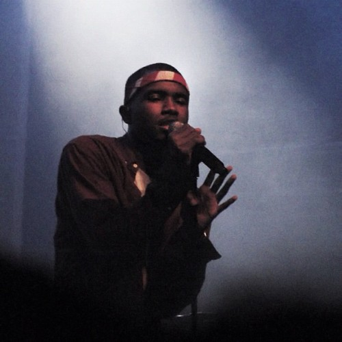 "rollingstone:  #FrankOcean performed a sold-out show in NYC last night. Head to RollingStone.com to read our review. (Taken with Instagram)  Shit, he showed up at the end of the ""Peter Rosenberg's Night of Real Hip Hop"" show last night too."