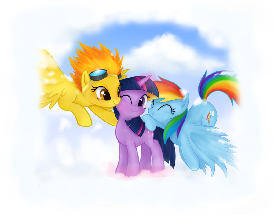 bak-pau:  Pegasus sandwich by *Mn27  My two favorite ships in one picture.  It's … beautiful. Thank you!