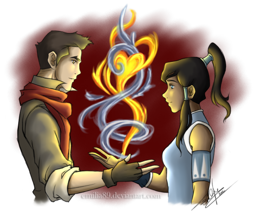 Makorra Week :: Balance by *Emilia89