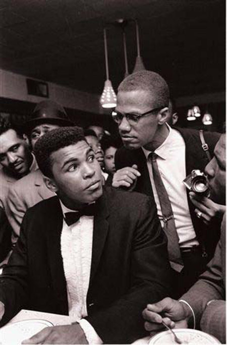 Mohammed Ali & Malcom X Black Power