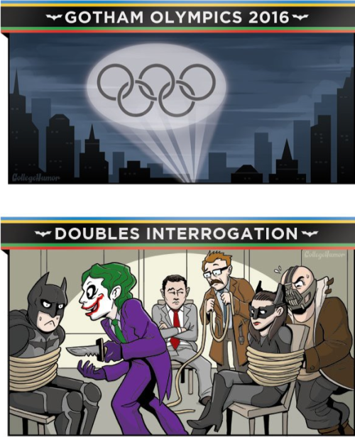 The Gotham Olympics 2016 [Click to continue reading] Let the games begin…4 years from now!