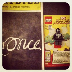 When attending events, remember to invite @blakegarris #marvel #once (Taken with Instagram)