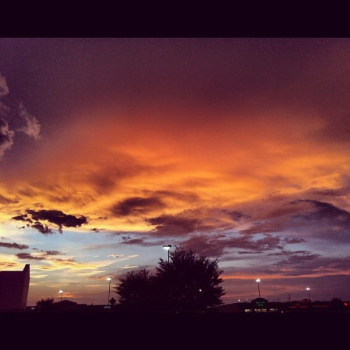 evening sky… (Taken with Instagram)