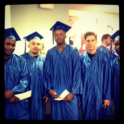 Recording School grads #classof2012 http://instagr.am/p/Nl32-oQq5v/ Follow us on #Instagram @losangelesfilmschool