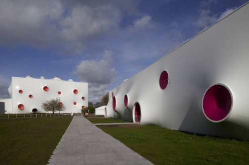 Olympic Shooting Venue by Magma Architecture (via ArchDaily)