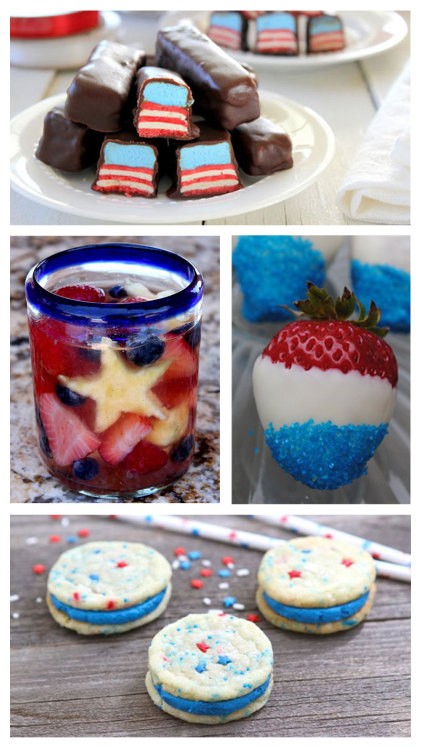 Cheer on Team USA this Olympics with patriotic recipes that are worthy of a gold medal.