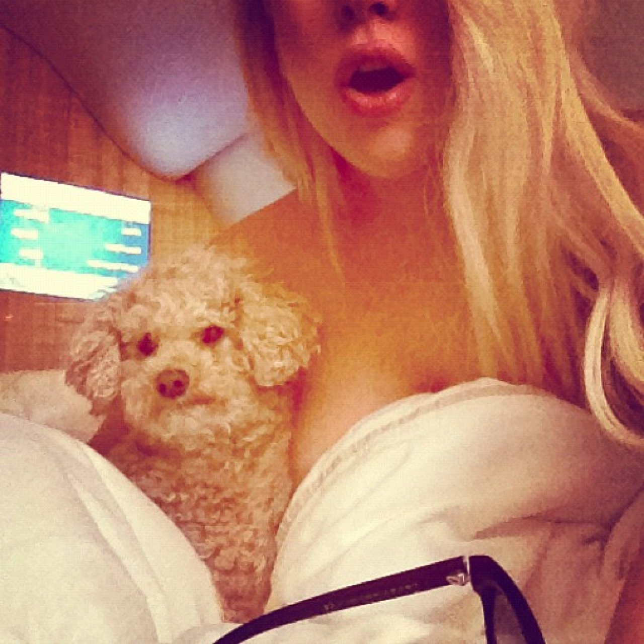 Gaga with her little Ningi :)