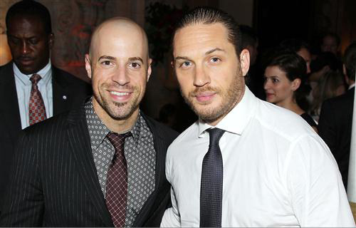 Chris Daughtry at the Dark Knight Rises After Party in New York City : 07.16.12