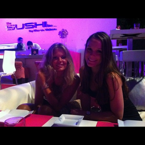 Sushi #OliviaValere#Summer#Axwell#marbella (Taken with Instagram at Olivia Valere Discotheque)