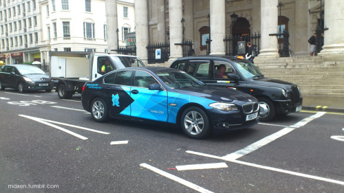 BMW the official Automotive Partner of the London 2012 Games.