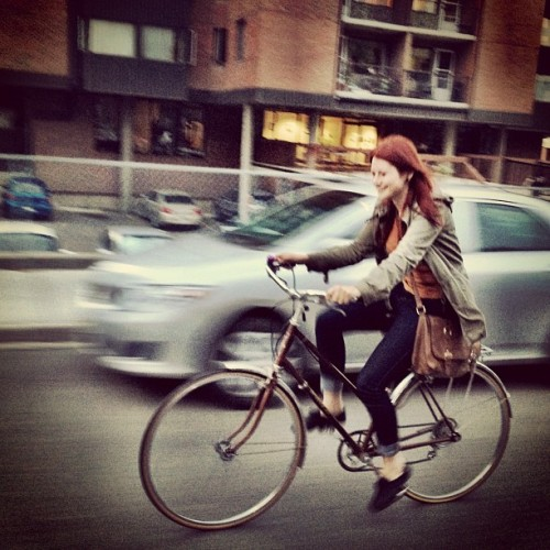 my name is dragana and sometimes i ride bikes