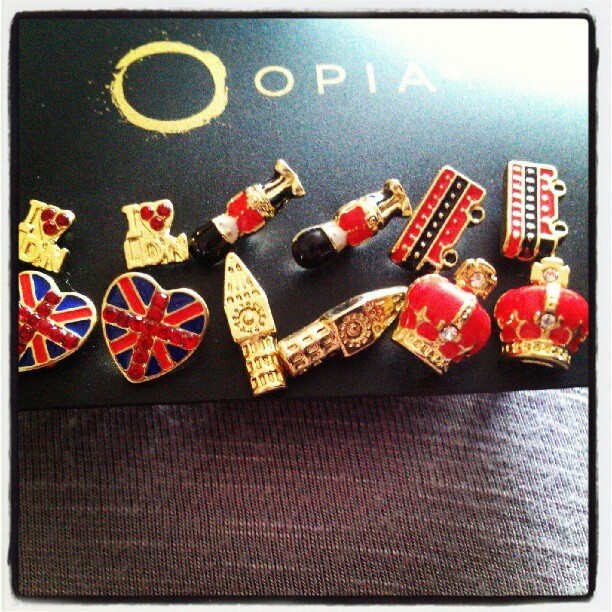 More #London based #jewellery #junk #trinkets #bigben #crownjewels #unionjack #earrings #Londonbuses #guards  (Taken with Instagram)