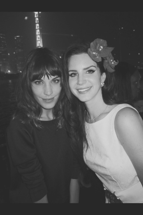 Lana Del Rey and Alexa Chung at Louis Vuitton Shanghai's Private Party.