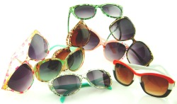 """Retropop"" sunglasses are here! Click the pic to take a look at the collection's first wave!"