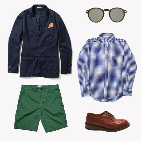 free-man:  Summer Kit Nº5 – Navy Blazer Game