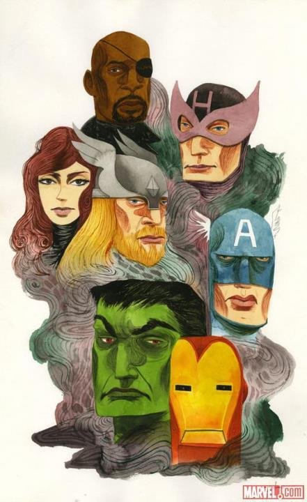 Check out this new Avengers art!
