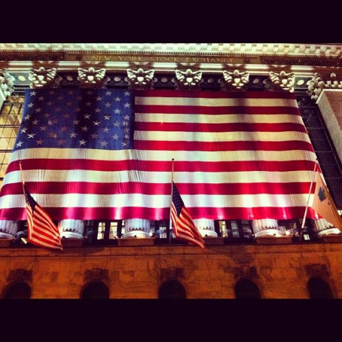 In god we trust… #america #flag #red #white #blue #us #olympics (Taken with Instagram)