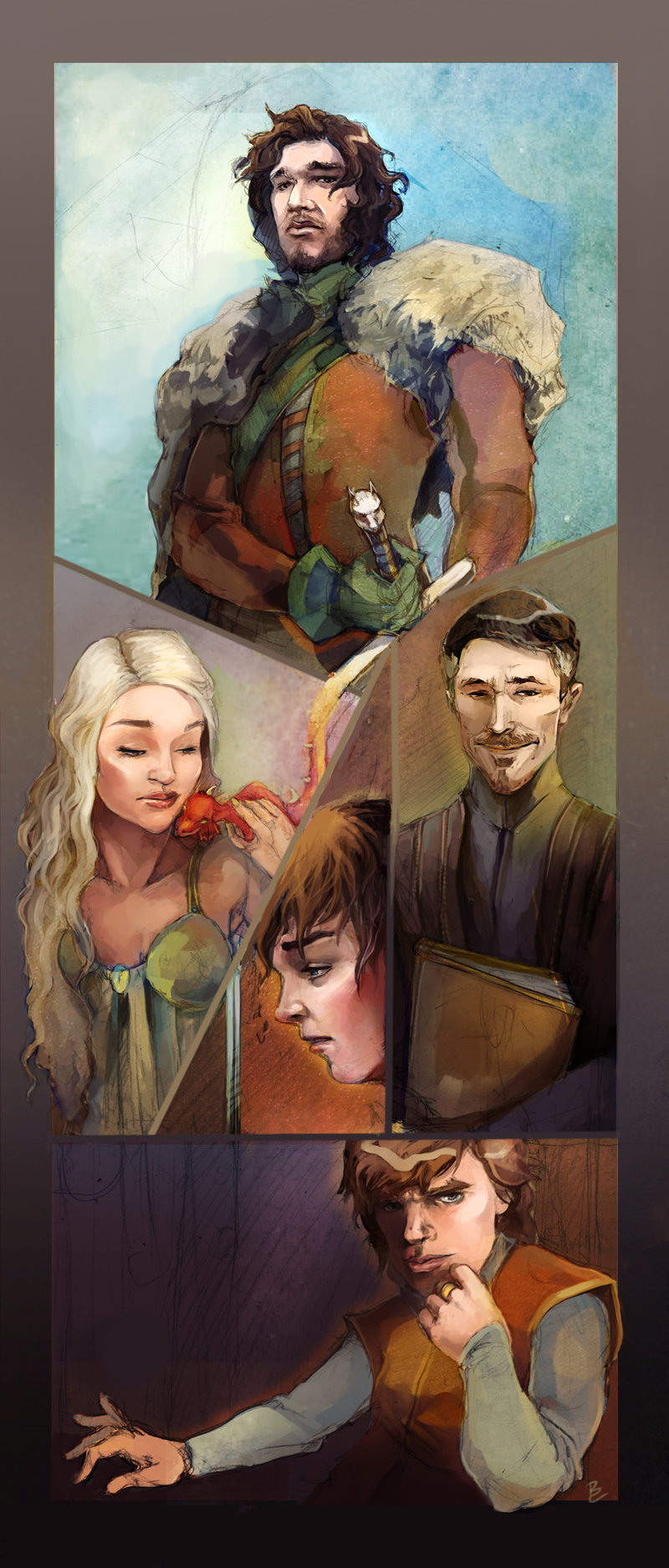 Game of Thrones by ~Baishare