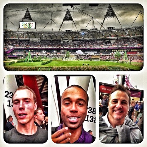 #London2012 #OpeningCeremonies we out here shout @jjlilhefe & Gavin Maloof #maloofmoneycup (Taken with Instagram at Olympic Stadium)