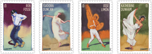 Start flexing your toes, everyone! The Innovative Choreographers stamps will be released tomorrow in Los Angeles, California. We hope to see you there!