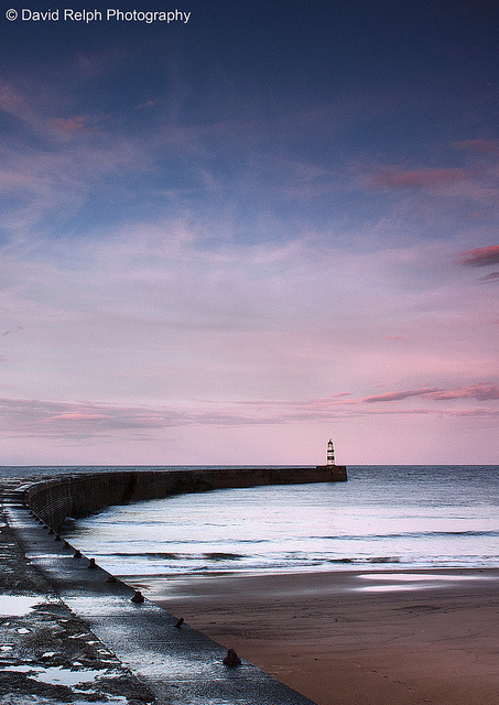 Seaham Harbour - Crop by David Relph on Flickr.